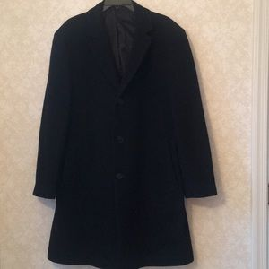 Calvin Klein black wool coat i